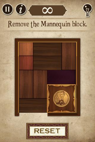 Remove the mannequin block