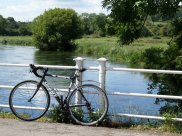 Lovely sunny day for a bicycle ride in Winchester