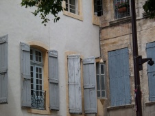 Windows in Avignon