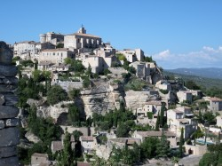 Gordes from a distance