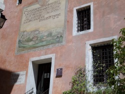 Petrarch's house that we didn't visit