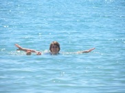 And me in the sea