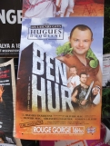 Festival poster for a gay production of 'Ben Hur'