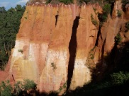 The ochre rocks of Rousillon