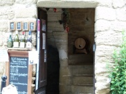 Wine shop in Châteauneuf-du-Pape