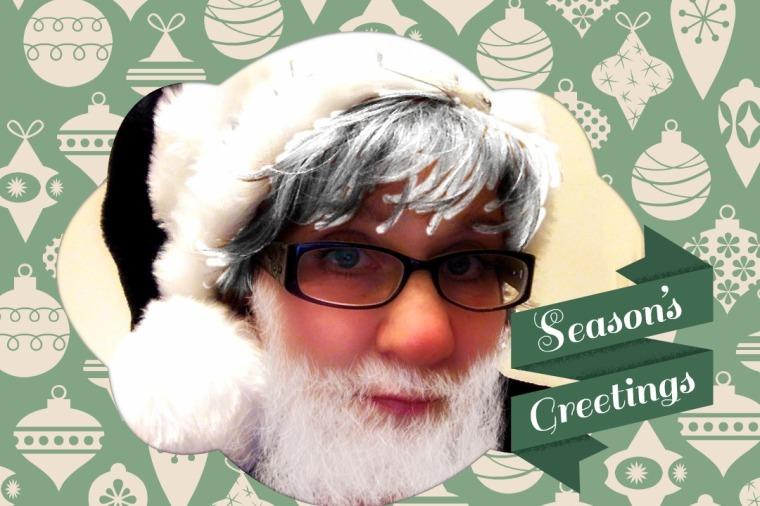Me as Santa