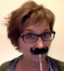 Moustache pencil