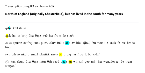 Transcription - Roy