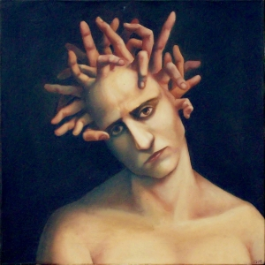 Medusa with fingers