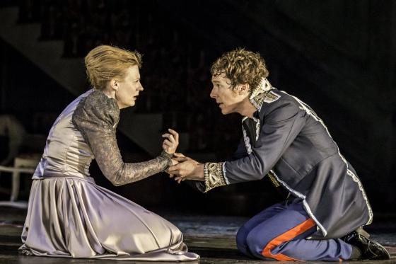 Hamlet and Gertrude